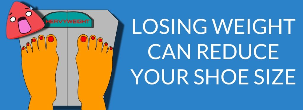 Losing Weight Can Help Reduce The Size Of Wide Feet