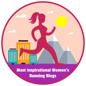 Most Inspirational Women's Running Blogs Badge